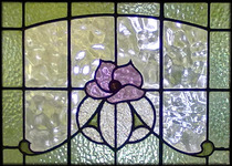 Traditional Floral Leadlight