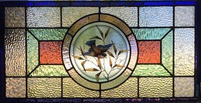 Traditional Painted Leadlight