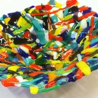 Glass Fragment Bowl